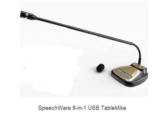 SpeechWare 9-in-1 USB TableMike