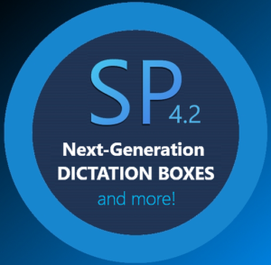 The SP Dragon Add-on, the next-generation Quick Dictation Boxes and more.